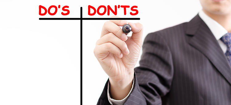 در این مطلب به بایدها و نبایدهای روز امتحان آیلتس پرداخته ایم. نکات کوچکی که میتوانند در موفقیت شما در آزمون تاثیر مهم و بزرگی بگذارند.